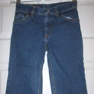 Levi's 505 Relaxed Fit Stonewash Blue Jeans Boys 4